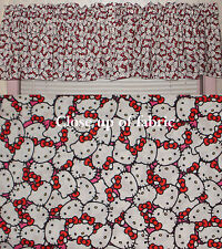 New Hello Kitty Valances Curtain Window Cover