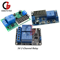 12V/5V 2 Channel Relay Digital LED Delay Timer Control Switch Relay Automation