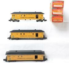 American Flyer 24730 Overland Express Baggage Cars with Original Boxes Lot 900
