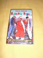 MONSIEUR PAPA...(Santa with muscles) VHS Hulk Hogan comédie