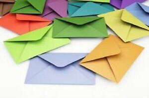 """5"""" x 7"""" (133x184mm) Diamond Flap Envelopes 100gsm - 20+ colours available"""