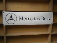 Mercedes Benz – pvc Banner for car workshop or garage