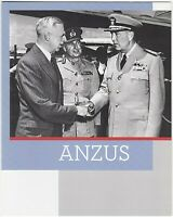 2011 AUSTRALIA PRESENTATION STAMP PACK 'ANZUS' WITH MINI SHEET 10 x 60c MNH