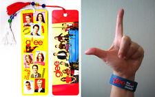 GLEE Bookmark & Movie Bracelet (Cory Monteith / Lea Michele / Jane Lynch)