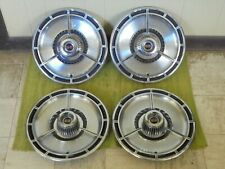 "1964 Chevy SS Hubcaps 14"" Set of 4 Chevrolet Spinner Super Sport Wheel Covers 64"