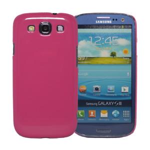 Hardcase Slim Schutzhülle Handyhülle in rosa/pink für Samsung Galaxy S3