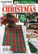 Crochet World Christmas Thread 40+ Holiday Designs Decor Nov/Fall 2020 Magazine