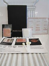 MARY KAY ASSORTED SET OF SAMPLES & FACE CASE W/ MIRROR READ DETAILS