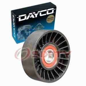 Dayco Drive Belt Idler Pulley for 2000-2006 Nissan Sentra 1.8L L4 Engine ma