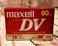 New Sealed MAXELL Mini DV Digital Video Cassette 60 Minutes DVM60SE Japan