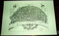 Köln Cöln Colonia alte Ansicht Merian Druck Stich 1650 Westfalen Städteansicht
