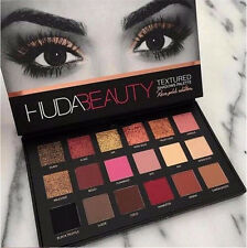 NEW Huda Beauty Textured Eye Shadows Palette Rose Gold Edition 18 Colors US