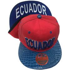 ECUADOR Snapback Cap Hat LOT Of 12pcs WHOLESALE 128SS