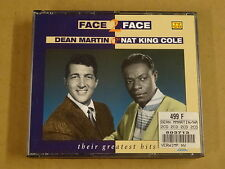 2-CD BOX / DEAN MARTIN & NAT KING COLE – FACE TO FACE - THEIR GREATEST HITS