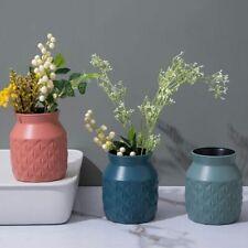 Home Decorations Plastic Vase European Anti Ceramic Decorations Flower Plant