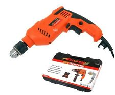 800W HEAVY DUTY 13MM VARIABLE SPEED ELECTRIC IMPACT HAMMER DRILL DRIVER IN CASE