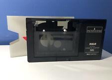 Rca Vca115 Vhs Cassette Adapter Tape Converter Motorized Free Shipping!