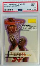 1997 97-98 SKYBOX PREMIUM TEAM SKYBOX Michael Jordan #235, Graded Mint PSA 9