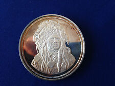 Running Antelope The Silver Chief Five Ounce Proof Silver Art Medal P2108
