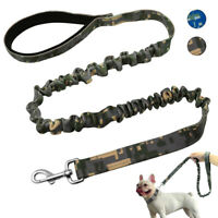 Nylon Dog Lead Bungee No Pull Pet Dog Training Lead for Small Medium Large Dogs