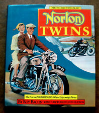 NORTON TWINS, Postwar Motorcycles inc model 7,88,77,99,650, Roy Bacon, Osprey