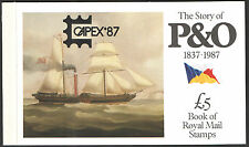 Dx8 / Db5(8) Capex '87 Overprint 1987 Story of P&O Prestige Booklet
