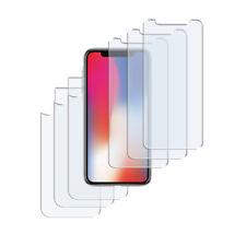 6 x Schutzfolie iPhone X Matt (3 x Vorn + 3 x Hinten) Folie Antireflex Protector