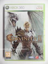 jeu DIVINITY II 2 EGO DRACONIS sur xbox 360 en francais game spiel gioco complet