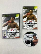 Knockout Kings 2002 Microsoft Xbox Boxing Game Electronic Arts with Maunal