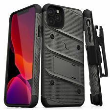 iPhone 11 Pro / iPhone 11 Pro MAX Case Zizo Bolt with Tempered Glass + Belt Clip