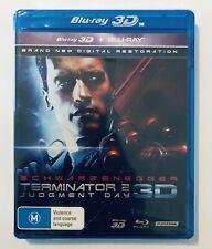 Terminator 2 Judgment Day (3D & Blu-Ray) NEW & SEALED Rare** Schwarzenegger
