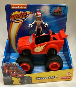 Fisher-Price Blaze and the Monster Machines Blaze Truck & AJ Action Figure Toys