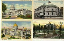 POSTCARDS LOT OF 8 MOSTLY FAMOUS BUILDINGS - CORCORAN ART GALLERY  ETC.   R1539