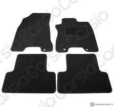 Fully Tailored Black Car Floor Mats Carpet FOR Nissan X-Trail 2008 to 2015