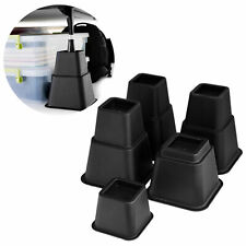 8PCS Bed Risers Chair Raise Furniture Lift Blocks Elephant Feet Underbed Storage