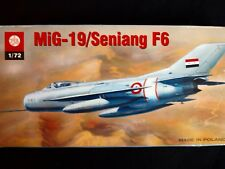 MIG-19 / SENJANG F6, FAMOUS RUSSIAN SUPERSONIC FIGTHER, PLASTYK, 1/72, S110