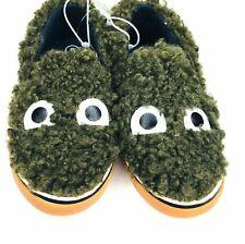 Toddler Boys' Geraldo Sherpa Monster Eyes Slip On Sneakers - Cat & Jack Green 10
