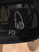 Bowers & Wilkins P3 (B&W P3) Wired Black with box and all accessories