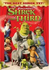 Shrek the Third (Dvd, Widescreen Edition) New