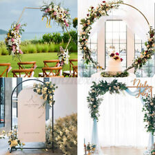 Square Round Wedding Stand Flower Rack Arch Door Birthday Party Backdrop Garden