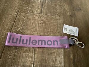 Lululemon Never Lost Keychain NWT Wisteria purple
