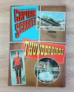 Gerry Anderson's Captain Scarlet Thunderbirds Annual Vintage SciFi TV (1969)