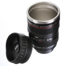Travel Camera Lens Coffee Mug Cup Thermos as Canon EF 24-105mm Drinking Lid
