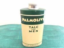 Vintage Palmolive Talc for Men Shower Powder Full Can Colgate-Palmolive-Peet