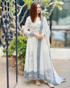 Wedding Wear Anarkali Suit Dress Kurti Kotti Indian Ethnic Designer Shalwar Gown