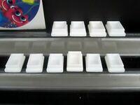 Ten Medium size White PEZ SHOES for No feet Vintage Pez  $3.99 ship to US