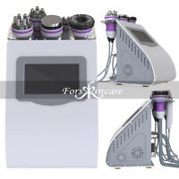 5in1 Cavitation Radio Frequency RF Vacuum Skin Cellulite Removal Machine Spa