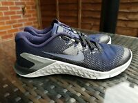 Nike Metcon 4 College Navy Black running jogging Trainers Size 5 ref16P59 womens