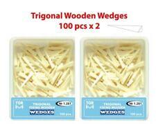 Dental Trigonal Fixing Wooden Wedges For Matrix Install 200 Pcs Tor Vm 1281