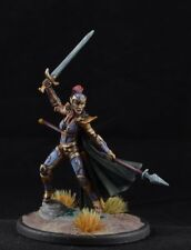 Painted Female Elven Fighter from Dark Sword Miniatures, rogue